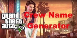 GTA Crew Name Generator