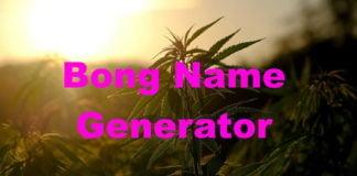 Bong Name Generator