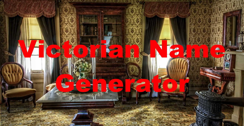 victorian name generator