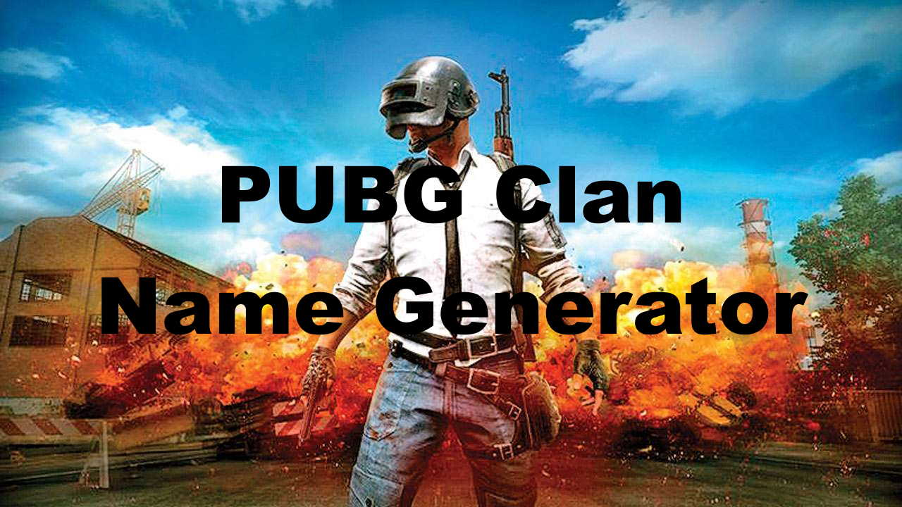PUBG Clan Names