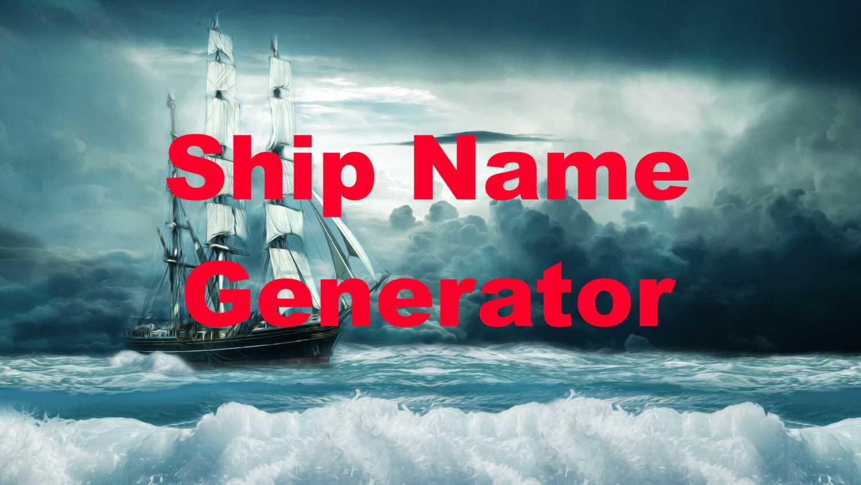 Ship Name Generator Image