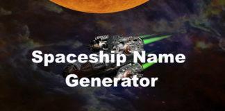 Spaceship Name Generator