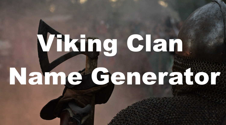viking clan name generator