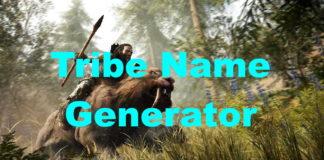 Tribe Name Generator