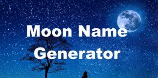 Moon Name Generator