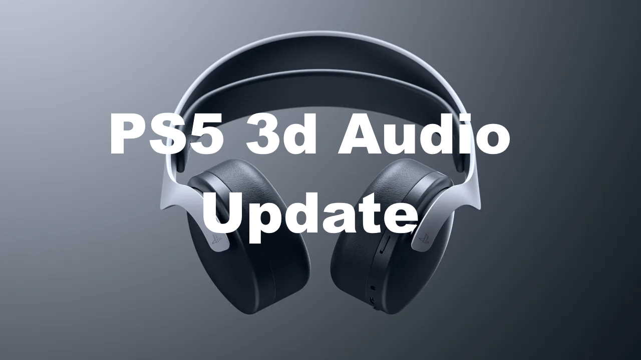 What Does the 3D Audio Update For PS5 Mean? Image